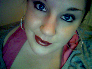 """Wearing the Smashbox Lip Palette in """"Lightbox"""" (3rd color)"""