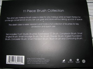 ELF Studio 11 Piece Glitter Brush Collection