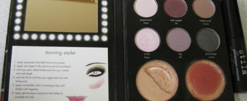 Review and Swatches: Stila Stunning Starlet Palette