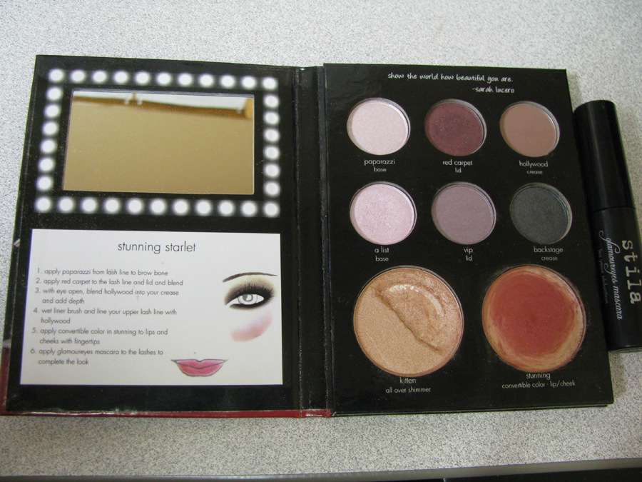 Stila Stunning Starlet Palette - E! Live from the Red Carpet Edition