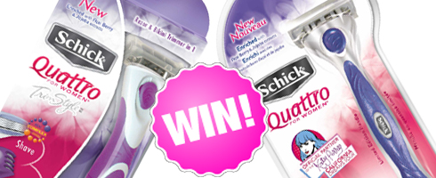 Giveaway! Schick Quattro for Women TrimStyle and Razor