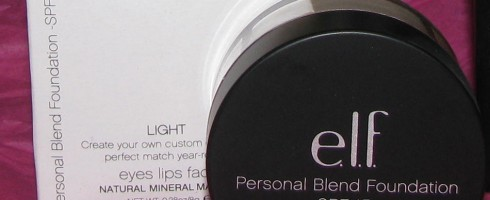 Review: e.l.f. Mineral Personal Blend Foundation Quad