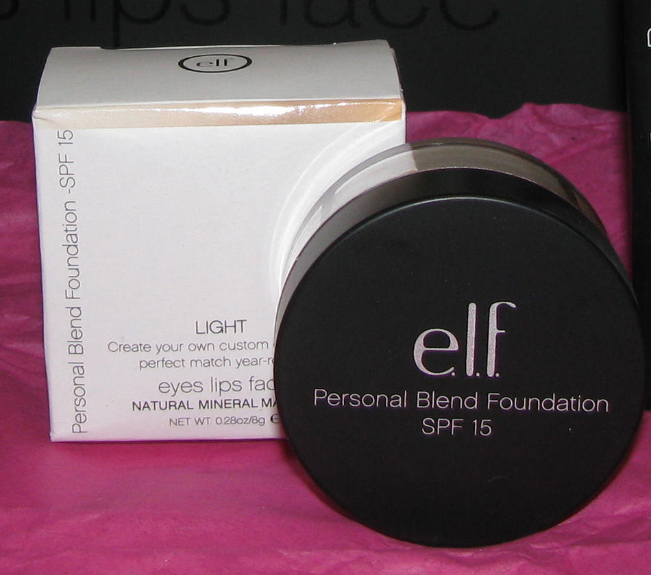e.l.f. Mineral Personal Blend Foundation Quad in Light