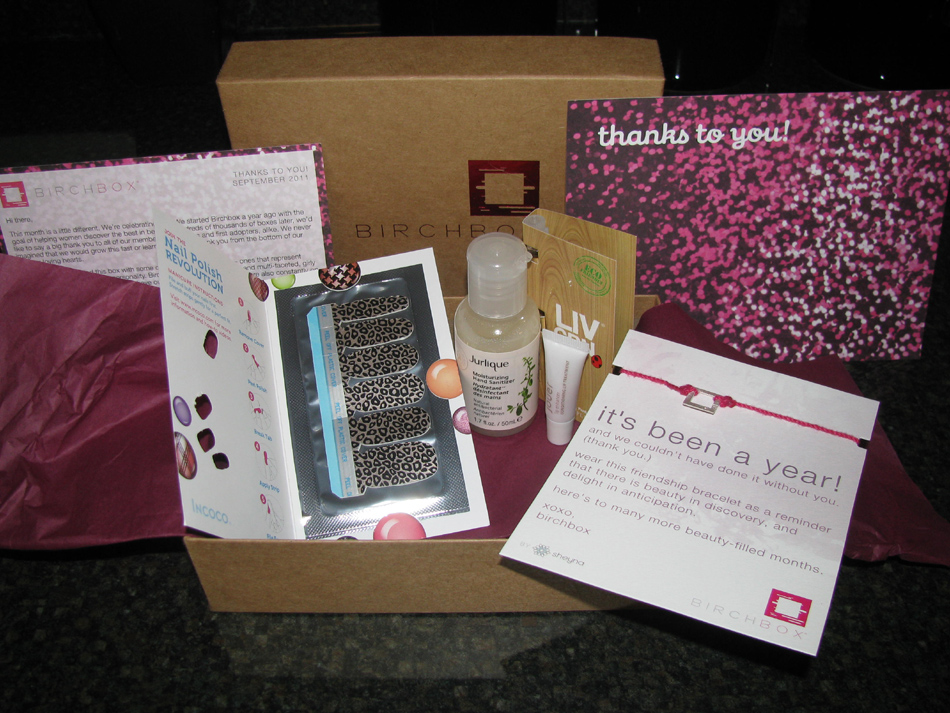 Birchbox September 2011