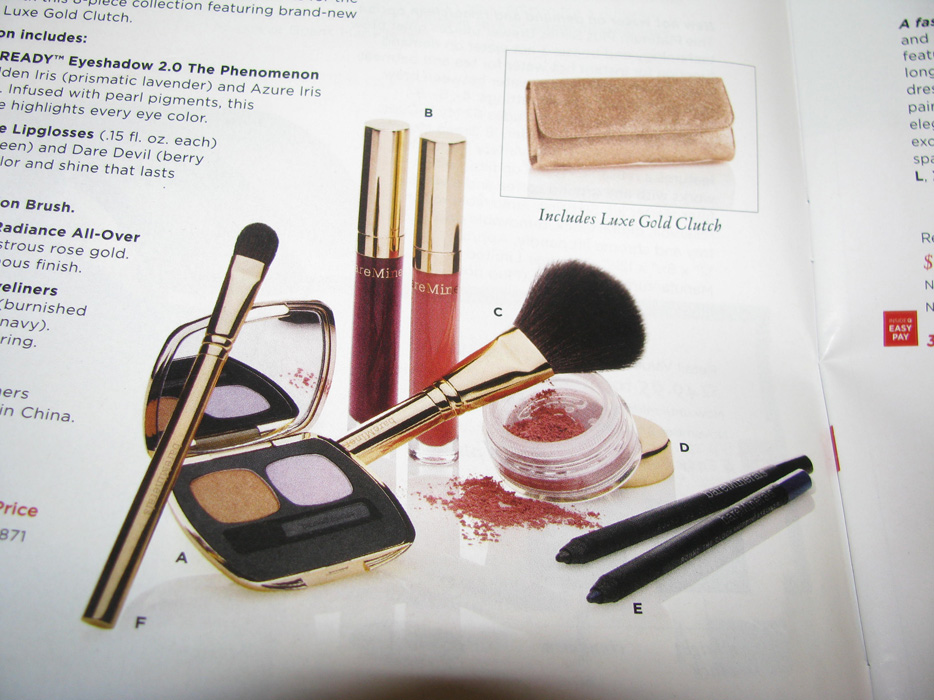 BareMinerals Holiday Color Collection on QVC 11/18
