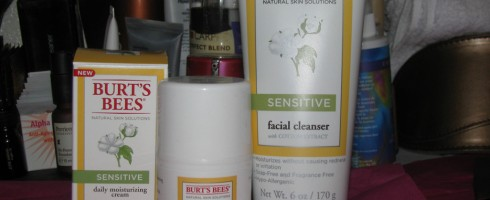 Burt's Bees Natural Skin Solutions for Sensitive Skin