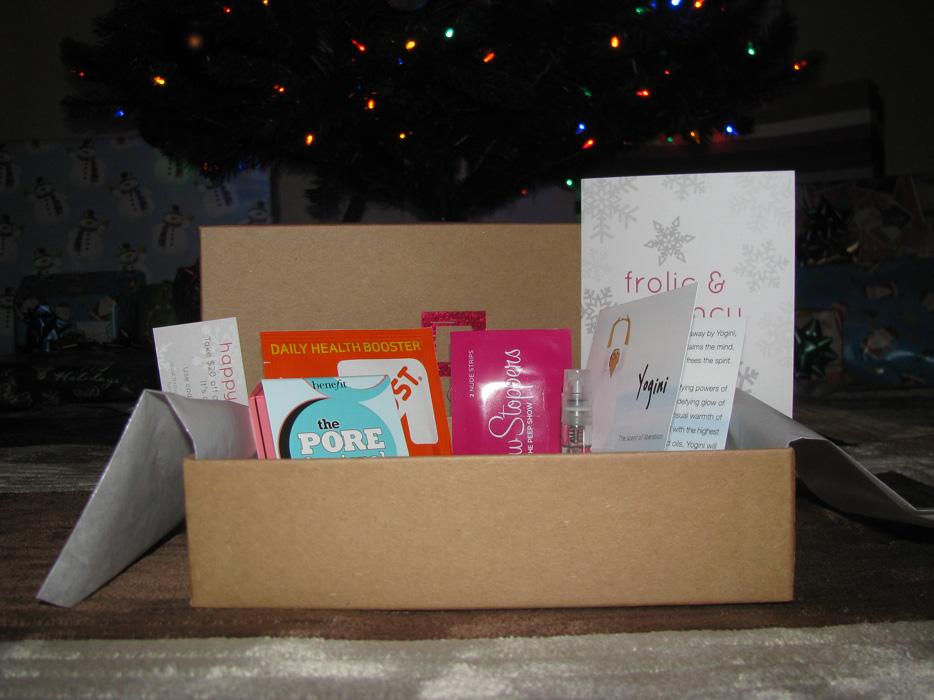 December 2011 Birchbox