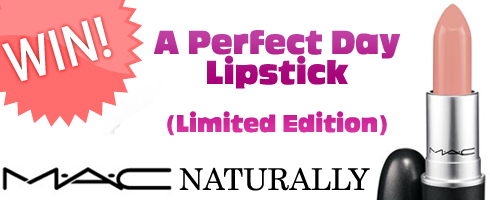 "Giveaway! Win a Limited Edition MAC ""A Perfect Day"" Lipstick!"