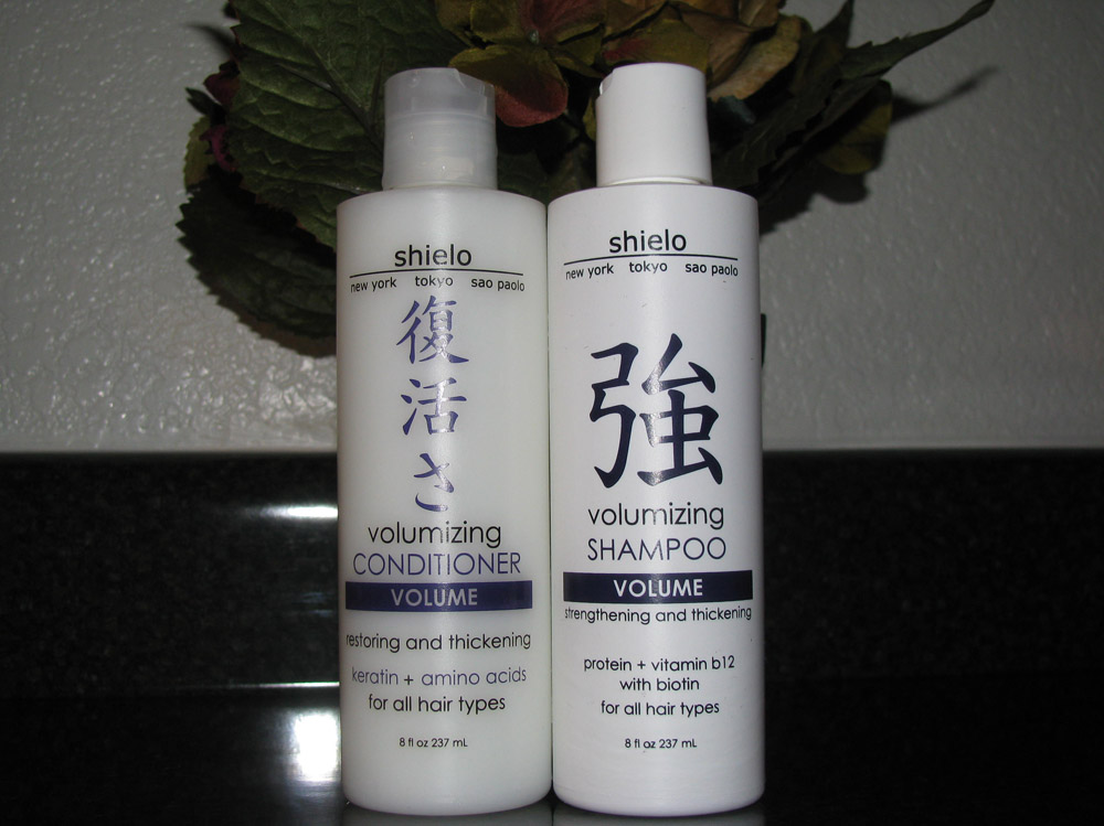 Shielo Volumizing Shampoo and Conditioner