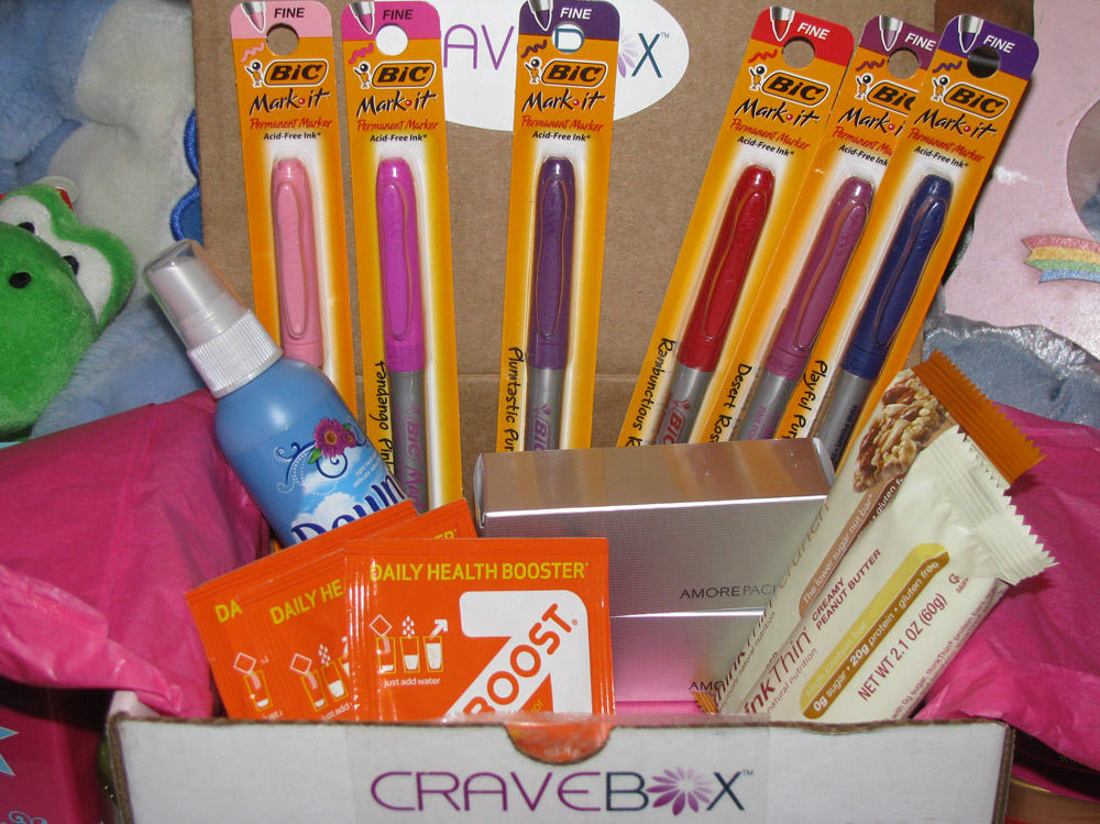 Cravebox February 2012