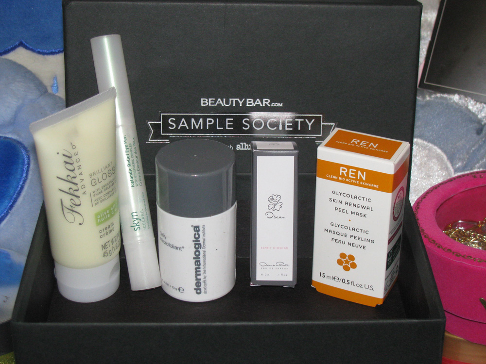 Sample Society from BeautyBar.com - March 2012