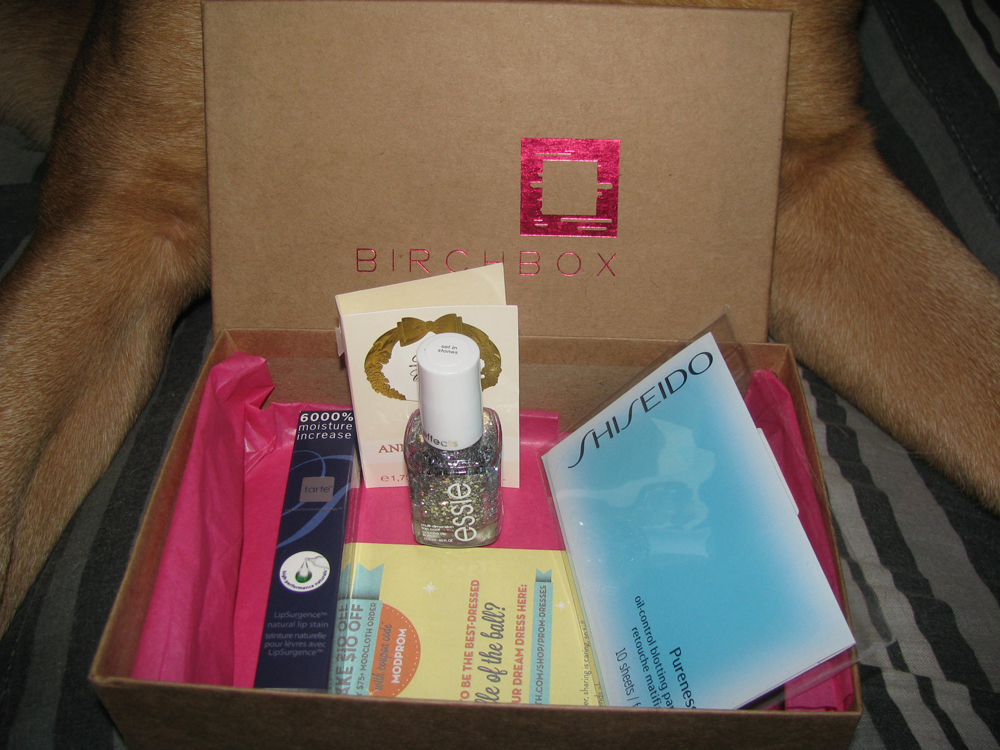 Birchbox Teen Vogue Edition! March 2012