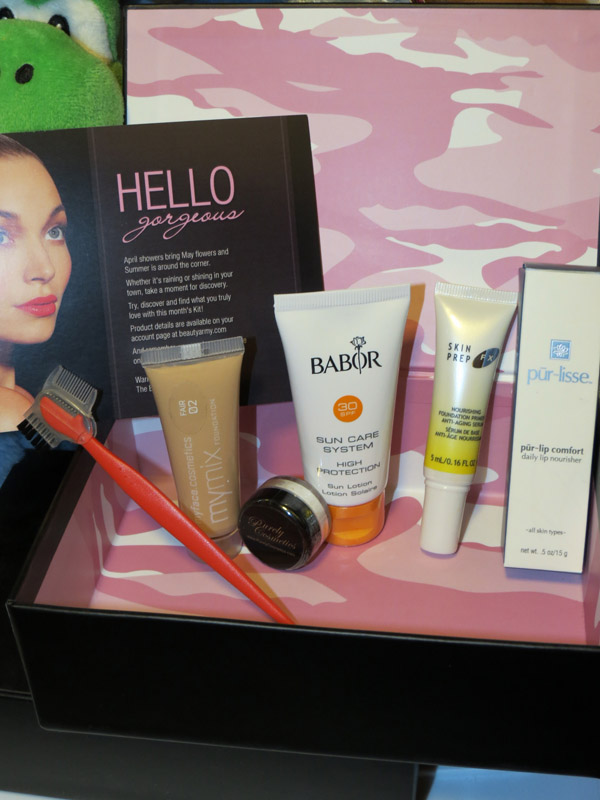Beauty Army Kit - April 2012