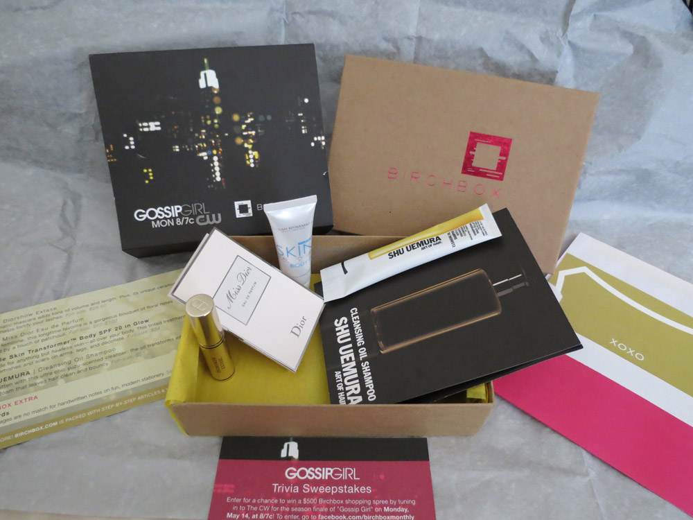 Birchbox May 2012