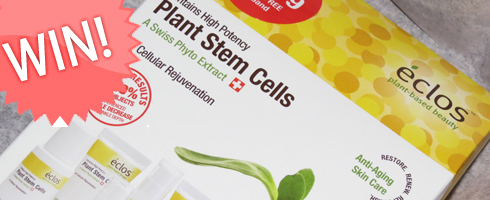 Giveaway! Eclos Plant Stem Cells Skincare Kit #EclosBeauty