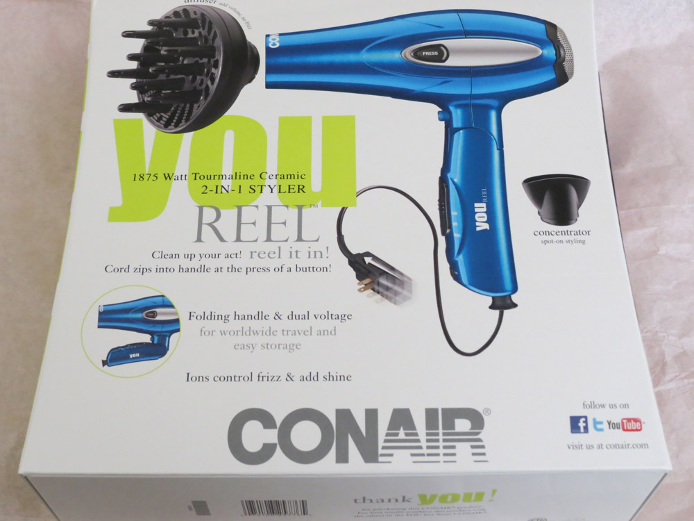 Review Conair You Reel 1875 Watt Tourmaline Ceramic 2 In
