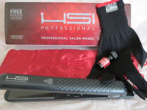 Review Hsi 1 Flat Iron Hair Straightener The Girly