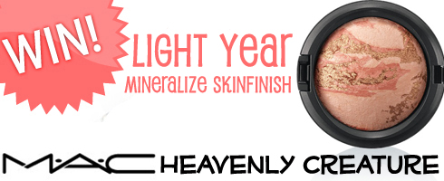 Giveaway! Win a MAC Limited Edition Mineralize Skinfinish in Light Year!