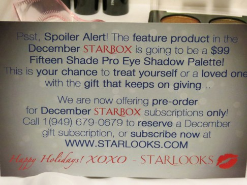 November Starbox from Starlooks (7)