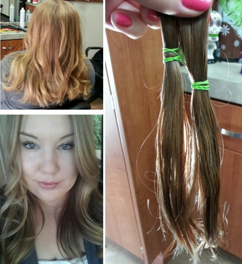 The day I donated my hair to Locks of Love