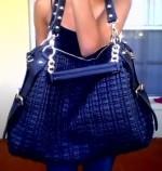 Lionel Diamonique Hobo Handbag