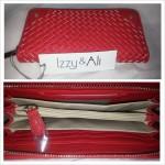 Izzy & Ali Tasha Woven Wallet