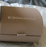 BCBGMAXAZRIA Ribbon Watch with Pink Satin Leather Strap